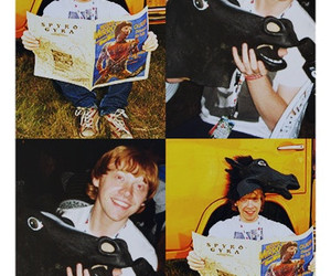 harry potter, rupert, and rupert grint image