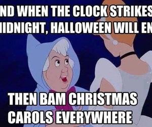 christmas, Halloween, and cinderella image
