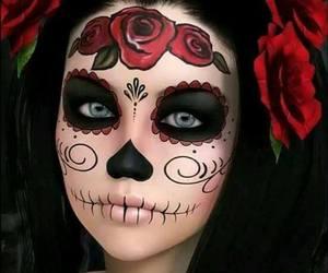 Halloween, makeup, and catrina image