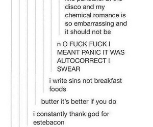 panic! at the disco and tumblr image