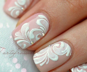 nails, cosmetics, and eyes image