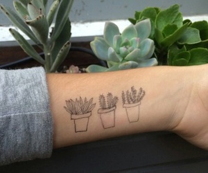 plants, tattoo, and grunge image