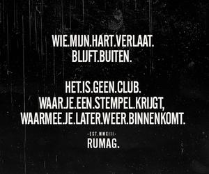 dutch, quote, and rumag image