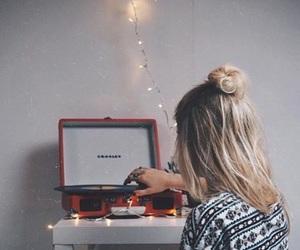 girl, music, and tumblr image