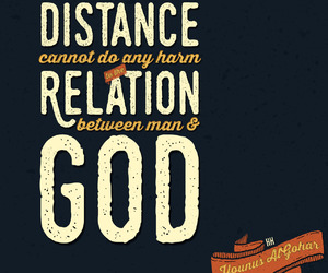 distance, god, and heart image