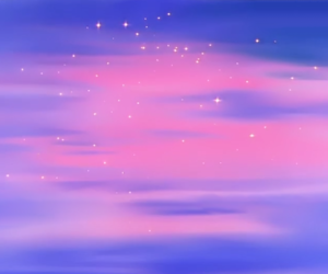 sailor moon and scenery image