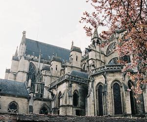vintage, castle, and architecture image