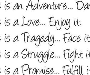 life, adventure, and promise image