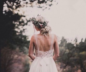 wedding, aspyn ovard, and dress image