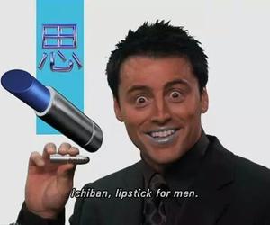 friends, Joey, and lipstick image