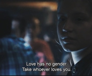 love, quotes, and gender image