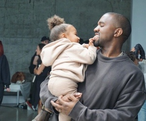 kanye west, north west, and kanye image