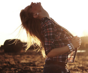 country, girl, and hair image
