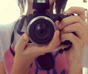 camera, ice, and lips image