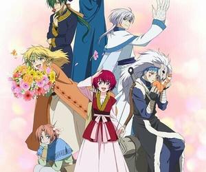 akatsuki no yona, anime, and hak image