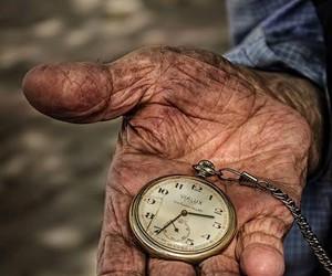 old man hand image