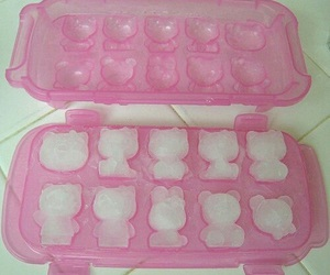 pink, ice, and hello kitty image