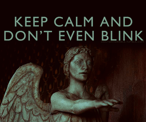 don't blink, steven moffat, and doctor who image