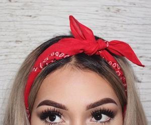 bandana and hair image