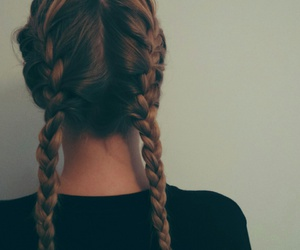 beauty, braids, and teen image