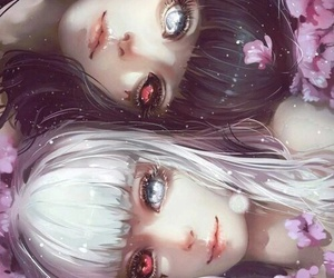 twins, ghouls, and toyko ghoul image
