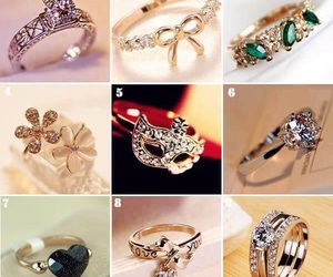 beautiful, rings, and hermosos image