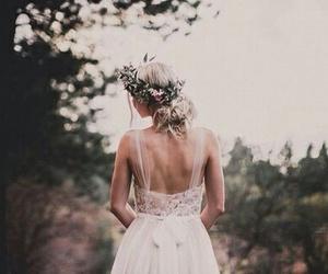 wedding, aspyn ovard, and dress image