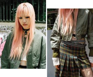 pink hair, punk, and fernanda ly image