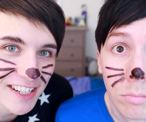 phil lester, dan and phil, and dan howell image