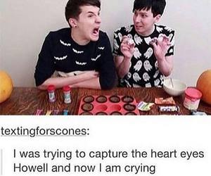 tumblr, youtube, and dan and phil image