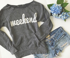 fashion, style, and weekend image