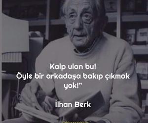 turkce, ilhan berk, and sözler image