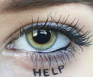 eye and help image