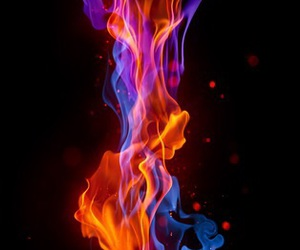 smoke, wallpaper, and fire image
