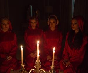 scream queens, ariana grande, and emma roberts image