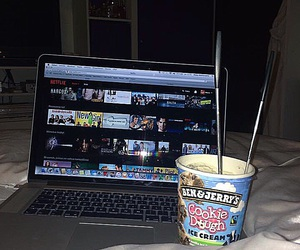 chilling, cookie dough, and food image
