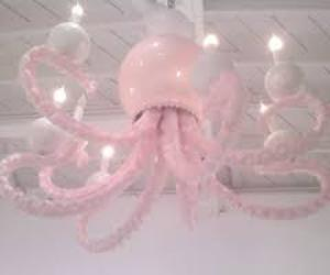 decoration, octopus, and pink image