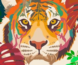 animals, wallpaper, and art image