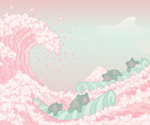 pink, pastel, and cute image