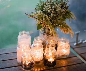 candle, light, and decor image