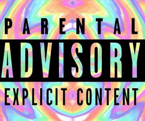 wallpaper, colors, and parental advisory image