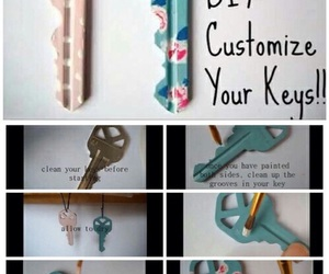 diy, key, and tutorial image