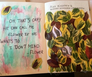 disney, flowers, and wreck this journal image