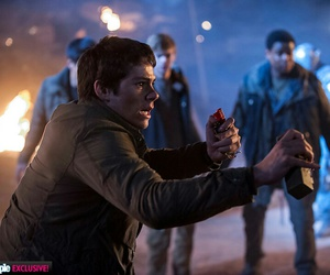 thomas, dylan o'brien, and the scorch trials image