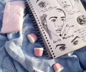 grunge, art, and drawing image