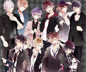 anime, diabolik lovers, and sakamaki image