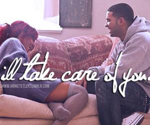 Drake, rihanna, and care image