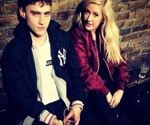 Ellie Goulding and olly alexander image
