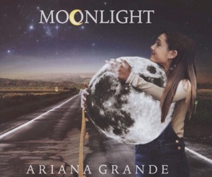 moonlight and arianagrande image