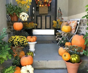 decoration, flowers, and Halloween image